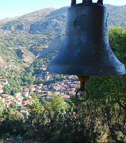 Guest House Kazas - Dimitsana Arkadias - Location